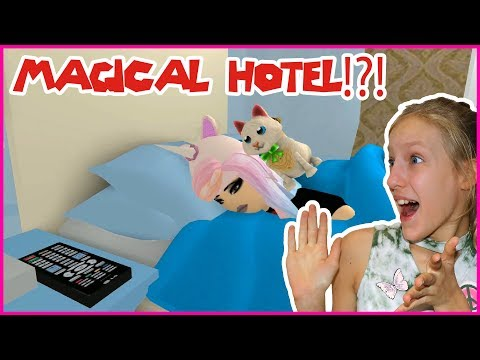 Going to a MAGICAL HOTEL!
