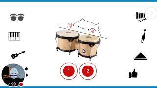 My Bongo Cat Musical Instruments Stream