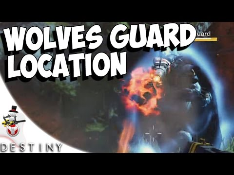 Wolves' Guard Location - Campus 9 Venus Guide - Destiny Bounty Hunt - House Of Wolves