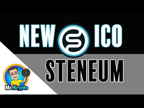 Steneum ICO I A Coin With A Unique Lending Platform!!! 2018 Here We Come!!!.