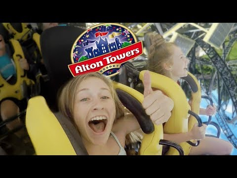 ALTON TOWERS VLOG!! *ON RIDE FOOTAGE*
