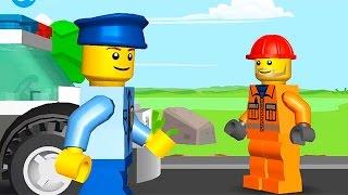 Мультик ЛЕГО на русском языке. Полицейский и преступник. Lego Juniors Quest
