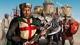 Играем вместе в Stronghold Crusader #2