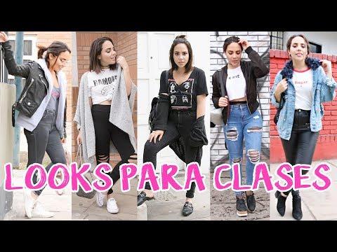 LOOKS PARA CLASES! (DE LUNES A VIERNES) | What The Chic