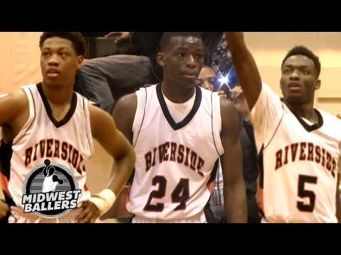 Milwaukee Riverside Trio Tallies 71 POINTS In Victory! Led by Iowa State Commit Terrence Lewis