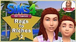 The Sims 4: Get Famous Rags to Riches Challenge Pt 2: Kindness Ambassador?