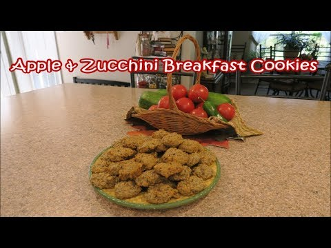 Zucchini breakfast cookies! �� Lessons learned in life...