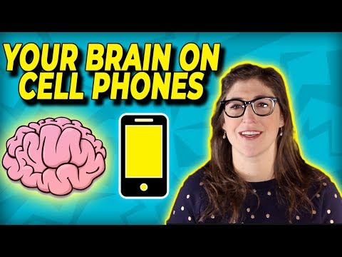 Your Brain On Cell Phones  Mayim Bialik