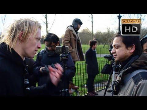 P1 - Creator Evolved!? Mansur vs Agnostic l Speakers Corner l Hyde Park