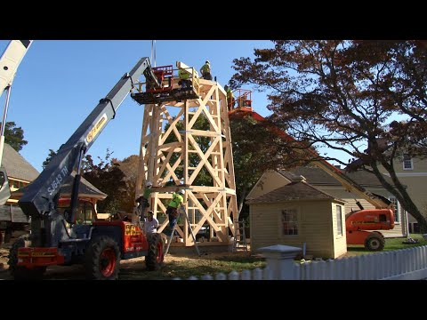 Rebuilding A Historic Timber Frame Water Tower