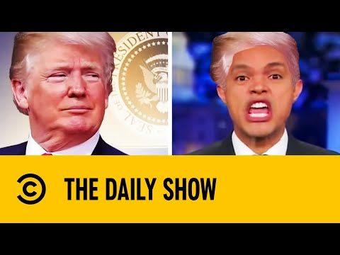 Trevor's Funniest Donald Trump Impressions | The Daily Show With Trevor Noah