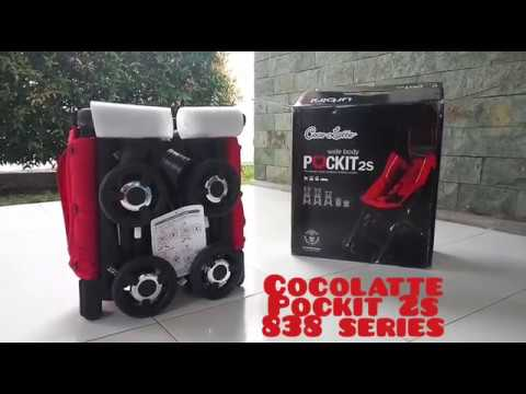 (Smallest Baby Stroller) Review & Unboxing Cocolatte Pockit 2S 838 Series Baby Stroller / Push Chair