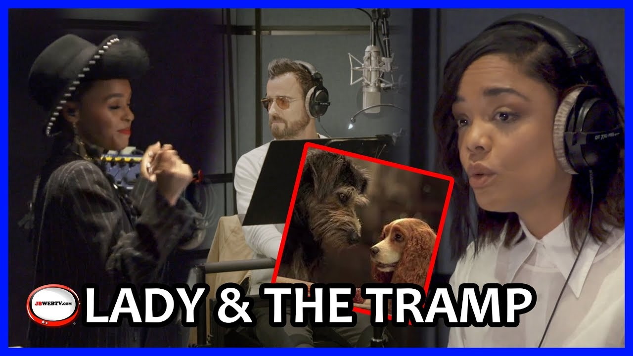 Download Lady and The Tramp - On set with Tessa Thompson, Justin Theroux and Janelle Monae