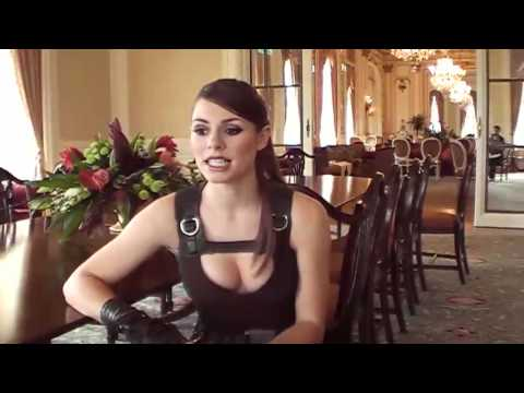 Shiny Interview: Alison Carroll aka Lara Croft