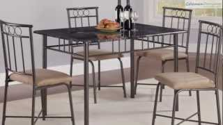 Dinettes Tan Dining Room Collection From Coaster Furniture