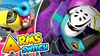 Nintendo Arms Update