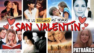 1 HORA de Peliculas Romanticas Y Estupidas Para Ver En San Valentin | #TeLoResumo
