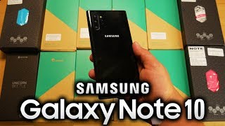 SAMSUNG GALAXY NOTE 10 + 12 CASES - Unboxing & Review Video