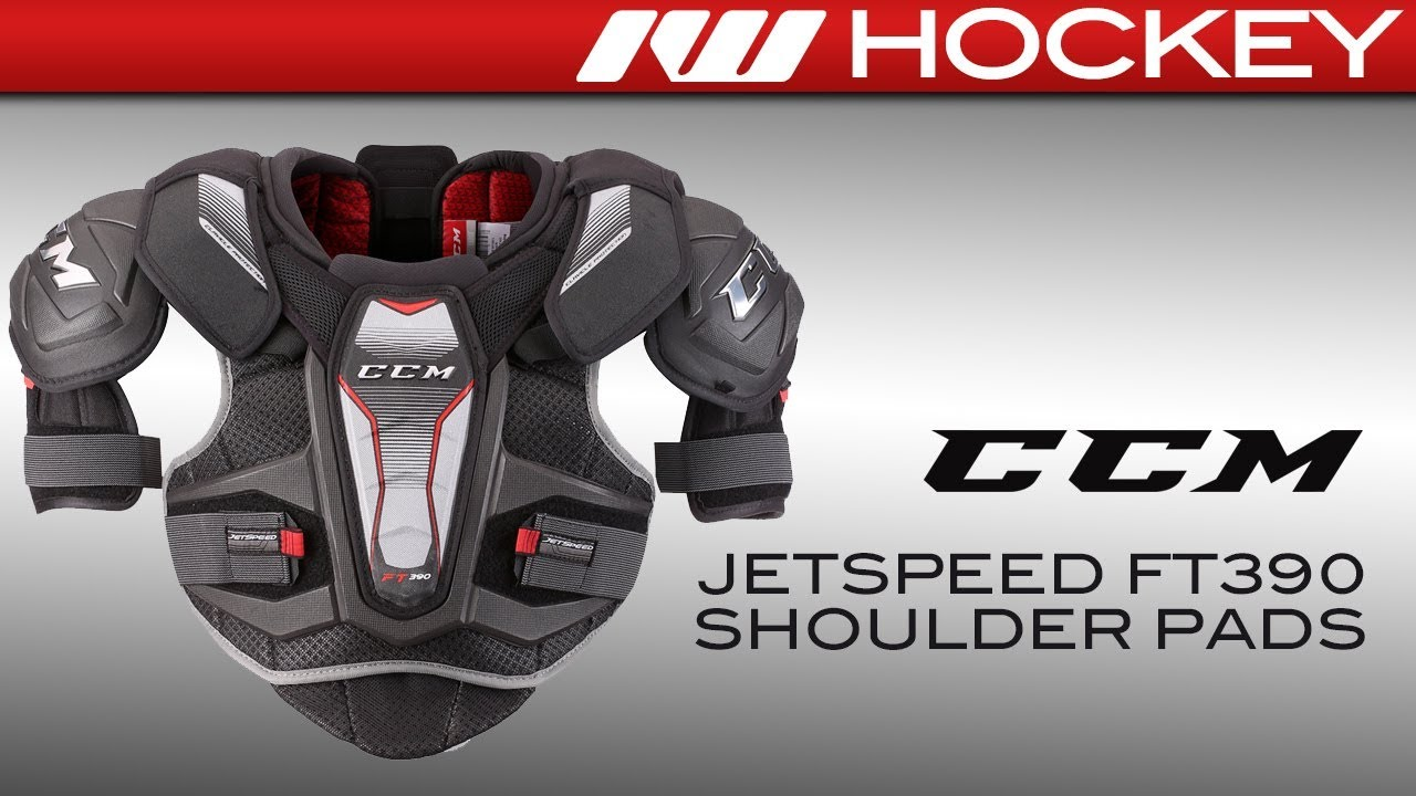 Ccm Jetspeed Ft390 Shoulder Pad Review Youtube