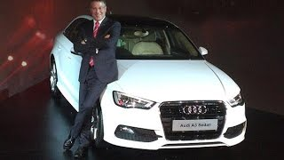 Audi Launches A3 Sedan Priced @ Rs 22.95 Lakh In India !
