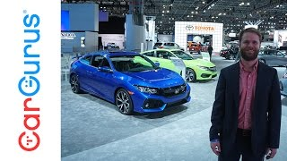 2017 Honda Civic Si and Type R | 2017 New York Auto Show