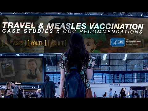 Travel & Measles Vaccination: Five Case Studies On Children Of Different Ages