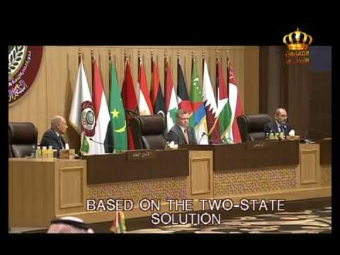 English News at Ten on Jordan Television 29-03-2017