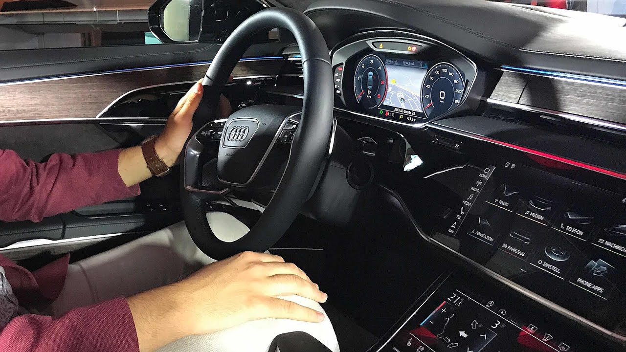 New Audi A8 Ambient Lighting Youtube