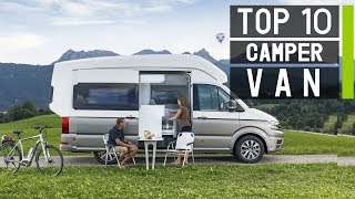 Top 10 Best Camper Vans & Class B Motorhomes for 2019