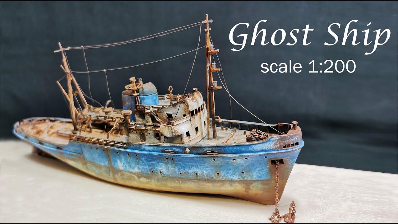 Simply realistic rust effect on the ghost ship / Einfach Realistischer Rosteffekt am Geisterschiff