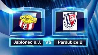 JABLONEC NAD JIZEROU vs FK PARDUBICE B - 24.kolo Divize C