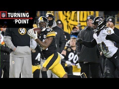 Antonio Brown Continues MVP Level Season Against Ravens (Week 14) | NFL Turning Point