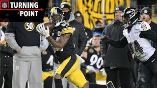 Antonio Brown Continues MVP Level Season Against Ravens (Week 14) | NFL Turning Point