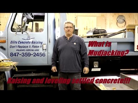 What Is Mudjacking?  Raising And Leveling Settled Concrete!