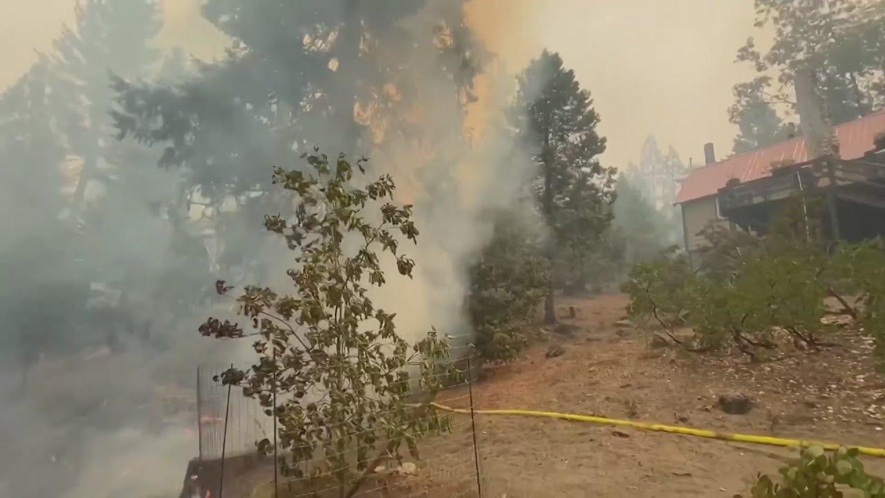 Dozens stranded at Shaver Lake, homes destroyed at Big Creek