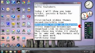 Windows 7  - Tricks & Secrets(, 2011-06-03T08:26:10.000Z)