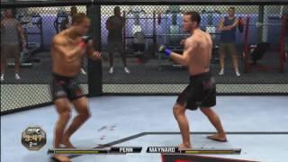 UFC Undisputed 2010 - Online Match 1 (Maynard vs. Penn)