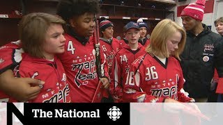 Washington Capitals honour team and player who faced racist taunts on the ice