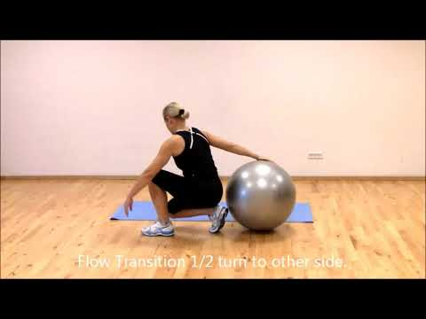 Stretching and Relaxation | Stretch with the Stability Ball | Marina Aagaard, MFE