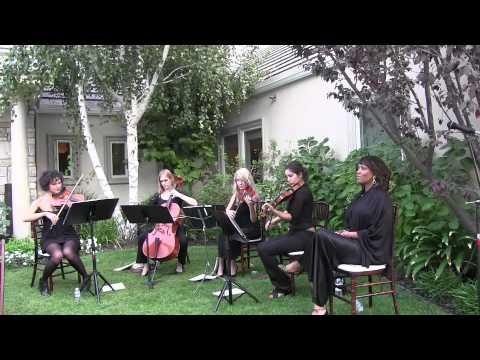 String quartet los angeles wedding bands