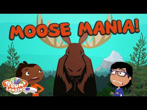 Moose Mania! - Mountain 2   PLUM LANDING on PBS KIDS