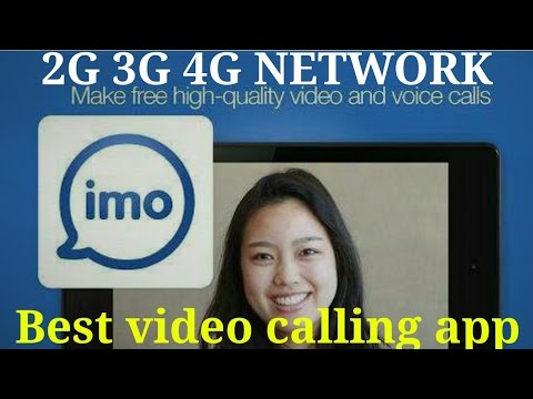 Best Video Calling App  working 2G 3G 4G NETWORK