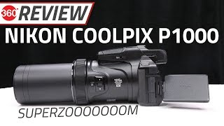 Nikon Coolpix P1000 Review | 125X Optical Zoom That Can Shoot the Moon