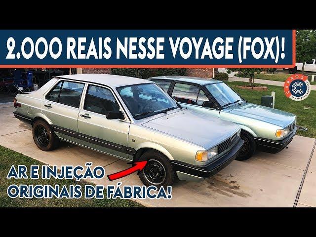 NOVO AMIGO DO GOL GLR NOS EUA! VW FOX (VOYAGE).