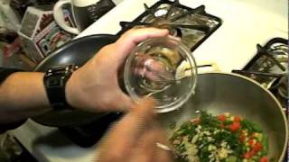 Making Beef Steak With Yellow Rice