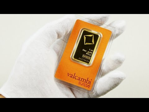 Valcambi Suisse 1 oz. Gold Bar Unboxing!