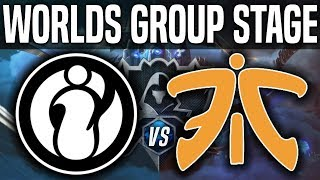IG vs FNC - Worlds 2018 Group Stage Day 8 - Invictus Gaming vs Fnatic Worlds 2018 Group Stage Day 8