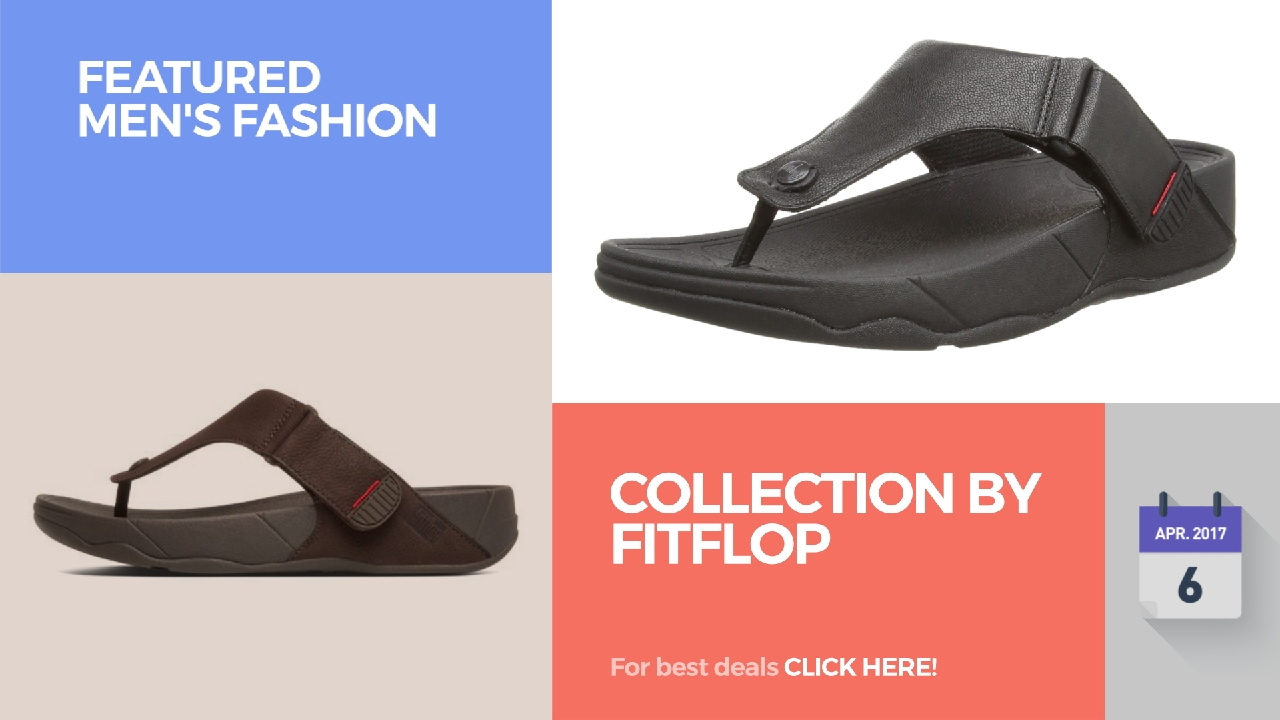 76a4e3abb Collection By Fitflop Featured Men s Fashion - YouTube
