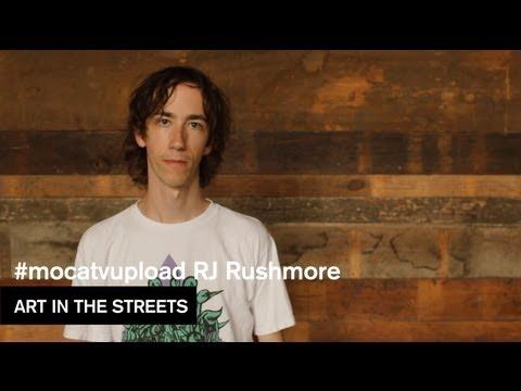 #mocatvupload - RJ Rushmore - Art in the Streets - MOCAtv