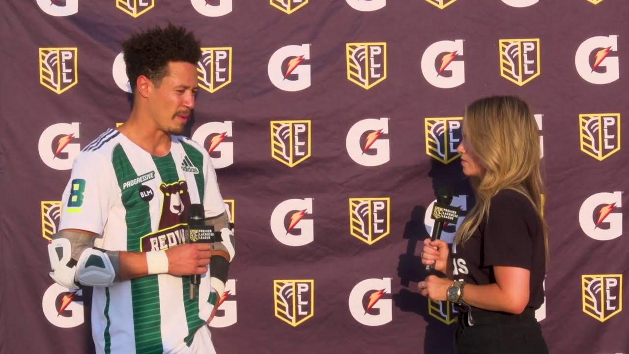 Brent Adams with the HAT TRICK! | Redwoods Postgame Interview